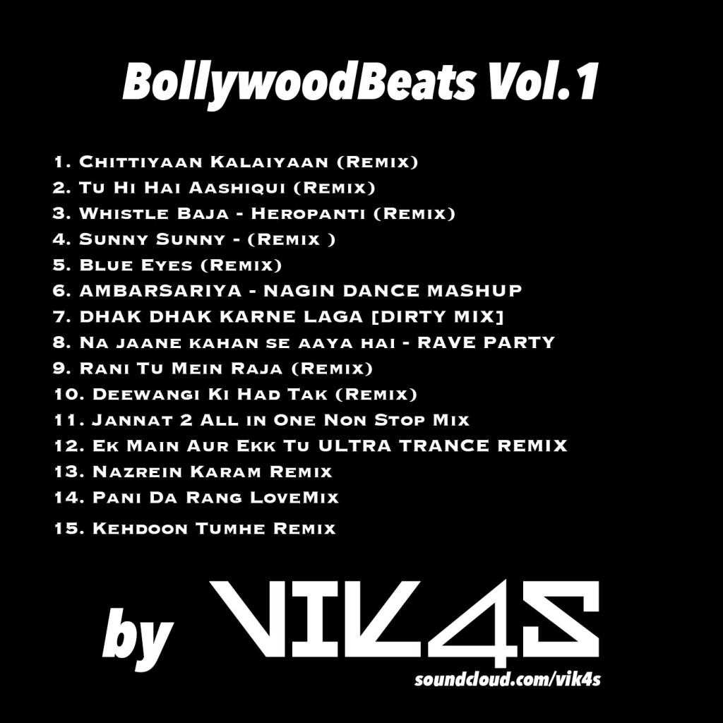 Bollywood beats by vik4s vol.1